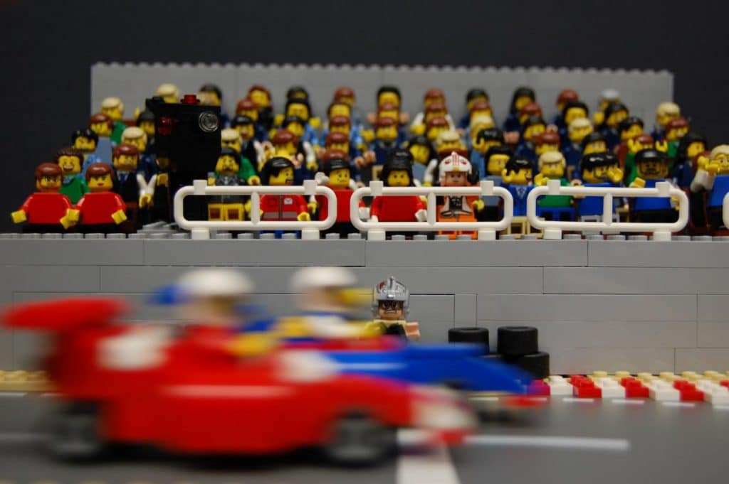 LEGO Vettel 2013