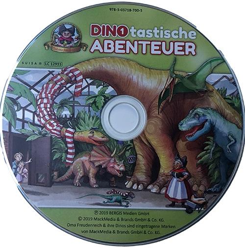Dinotastische Abenteuer CD Madame Freudenreich Europa Park