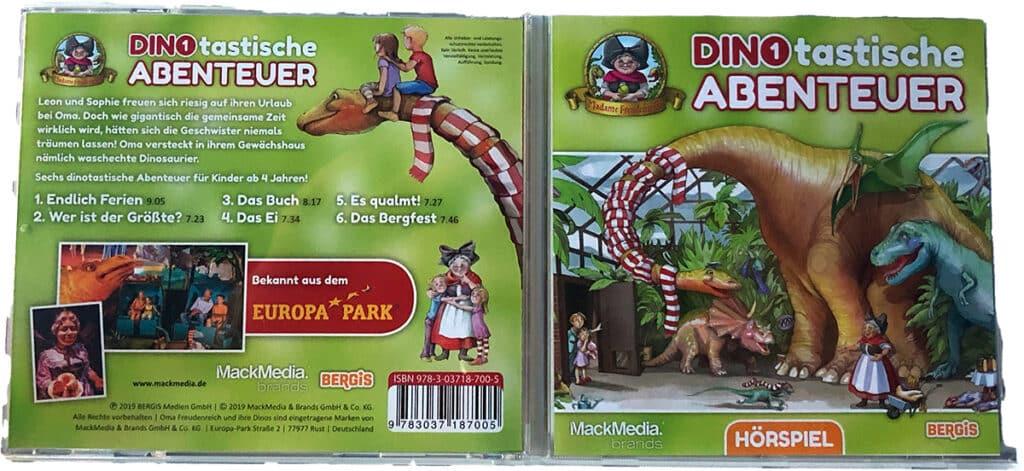 Dinotastische Abenteuer Madame Freudenreich Europa Park