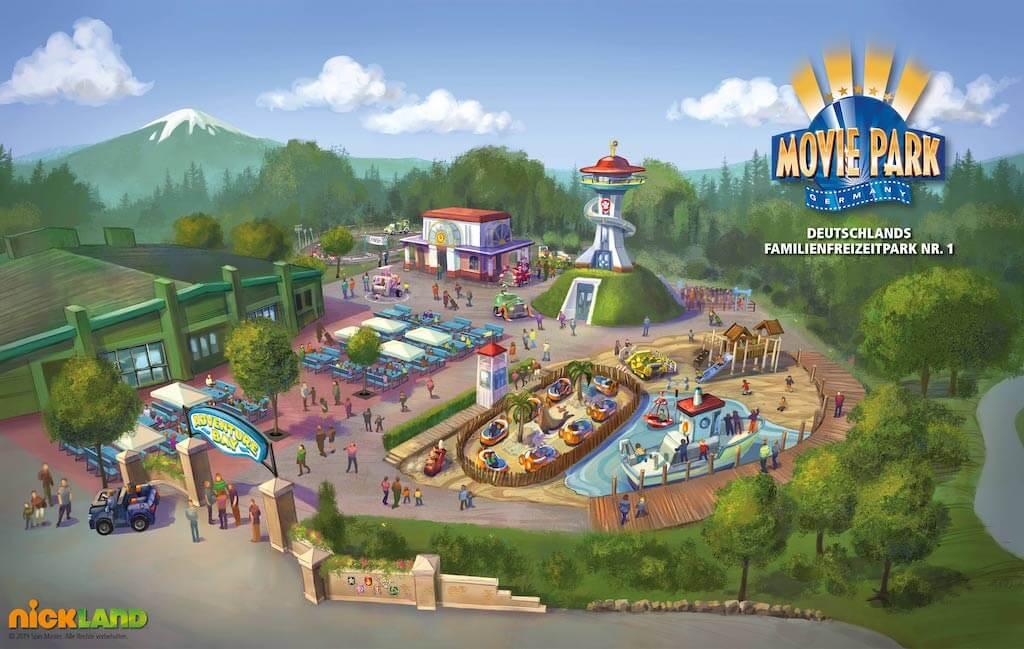 pm movie park germany adventure bay skizze de
