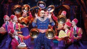 Aladdin Musical stage entertainment