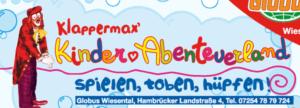 Klappermax Kinderabenteuerland Logo