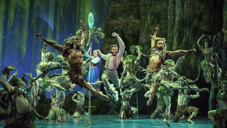 Die Eiskönigin Musical Hamburg stage entertainment