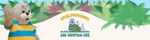 Spieleparadies am Hertha See Logo