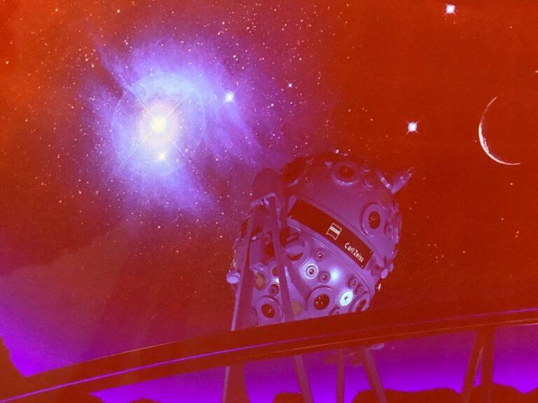 planetarium Bochum Wartebereich Sterne