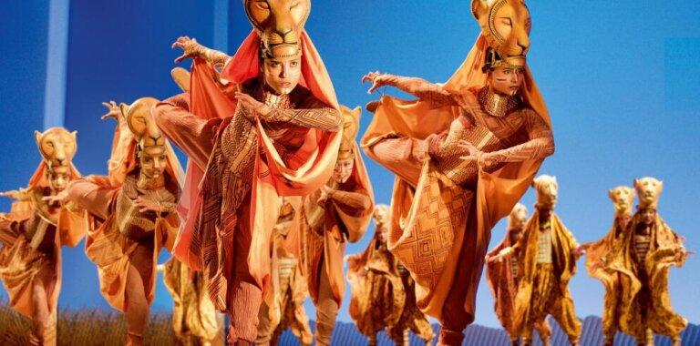 Der König der Löwen Musical Hamburg stage entertainment