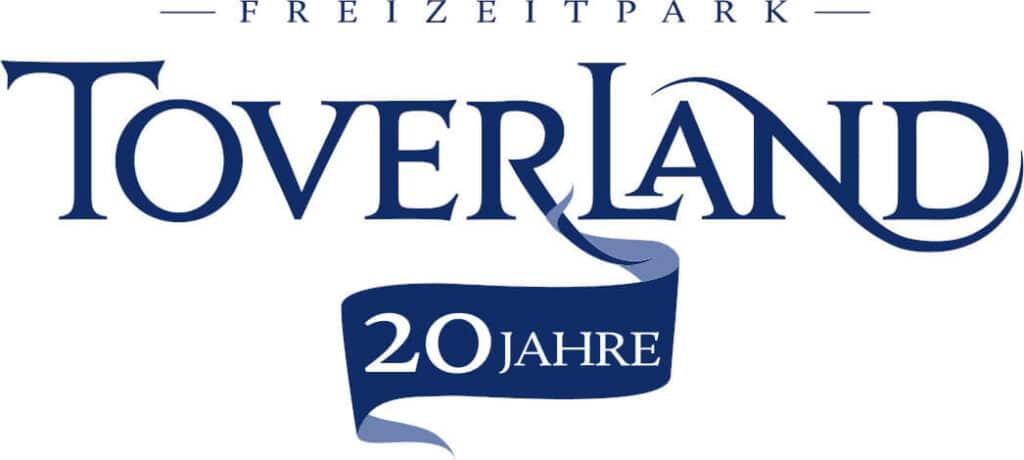 Logo Toverland Freizeitpark 20 Jahre