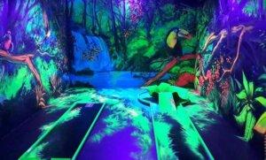 Glowzone Minigolf