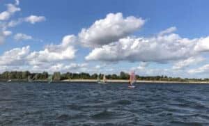 Beachline Xanten Windsurfen