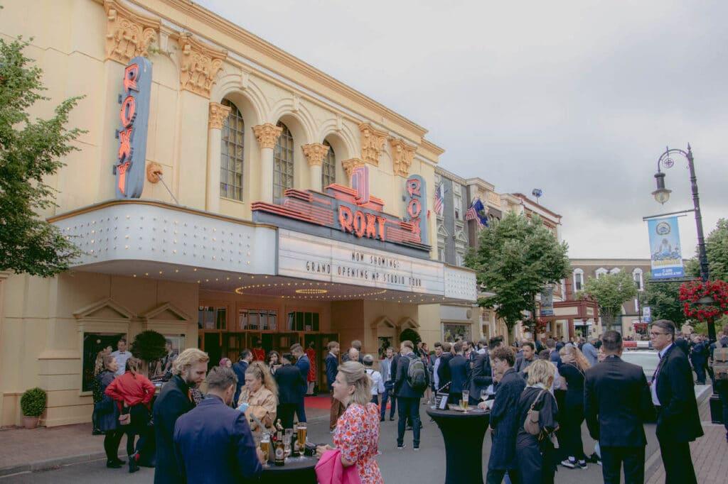 Movie Park Studio Tour Premiere Event
