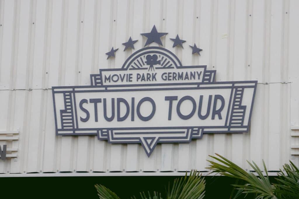 Movie Park Studio Tour Premiere Logo