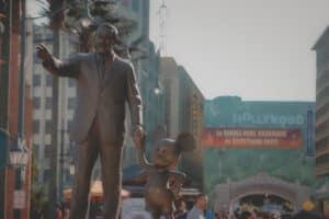Disneyland Studio Park Walt Disney und Mickey