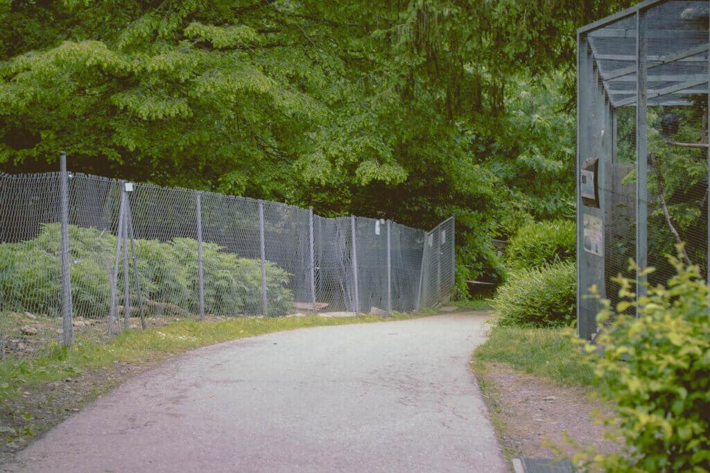 Schwarzwaldzoo Waldkirch Gehege