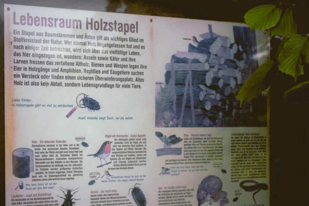 fpe schwarzwaldzoo Waldkirch Schild