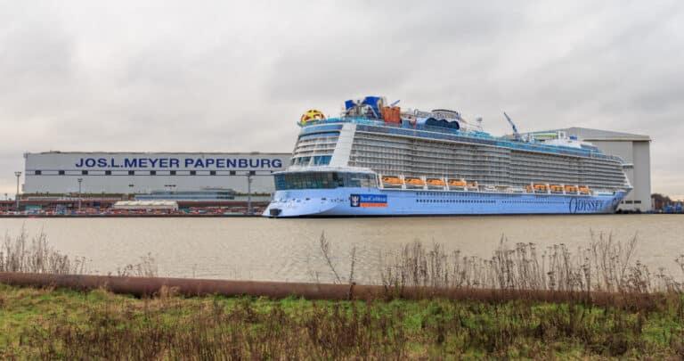 Meyer Werft Papenburg Aussenansicht