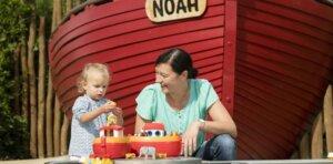 Playmobil Funpark spielen mit Mama