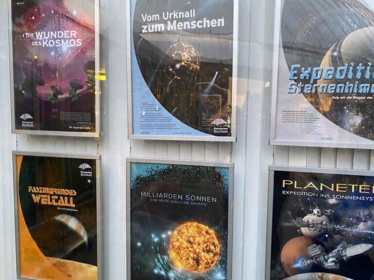 Planetarium Bochum Event Plakate 1