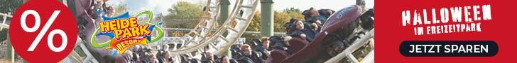 Banner heidepark Halloween