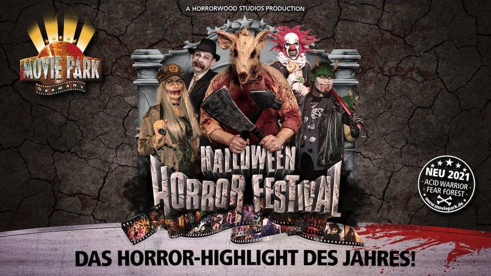 Halloween Horror Fest Monster Movie Park Germany 2021