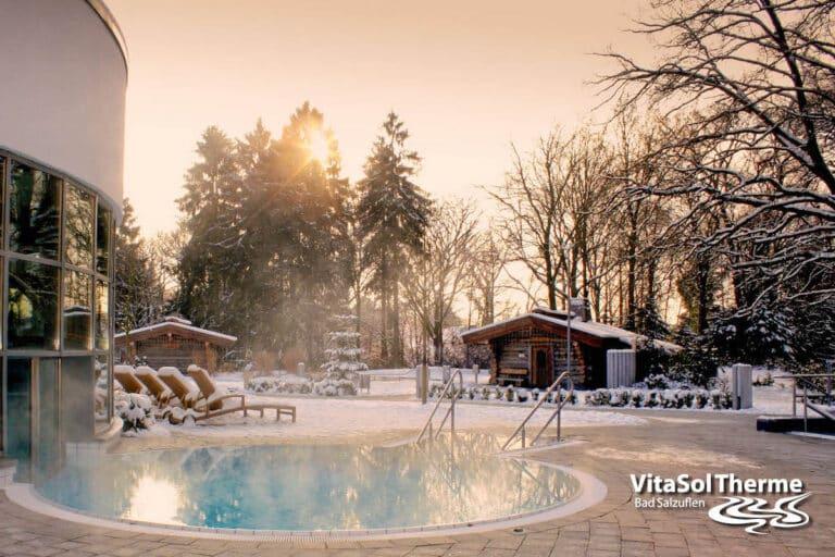 Vitasol Therme Winterlandschaft